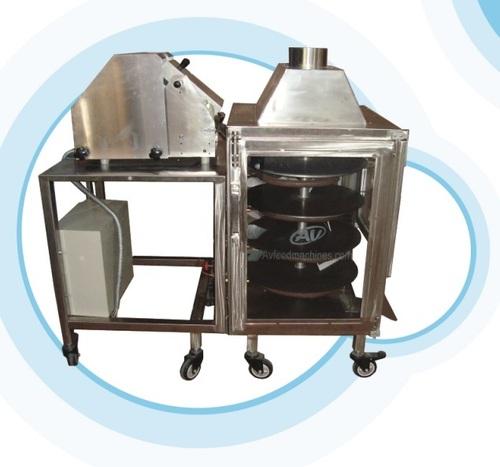 Semi Automatic Chapati Machine in   Factory Area