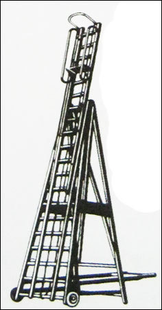 Aluminum Self Supporting Telescopic Ladder (Model No 508)