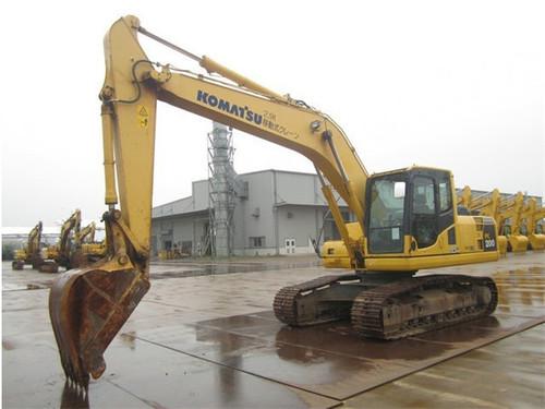Used Komatsu PC200-8N1 Crawler Excavator