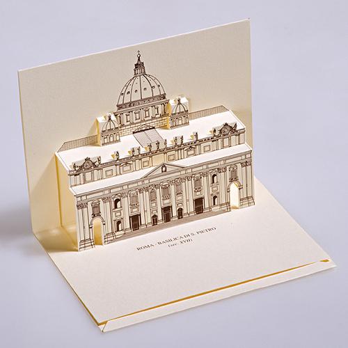 Basilica Di San Pietro, Roma (Italy) Postcard