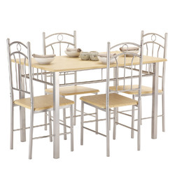 Stainless steel dining table in mumbai maharashtra for Best dining tables in mumbai