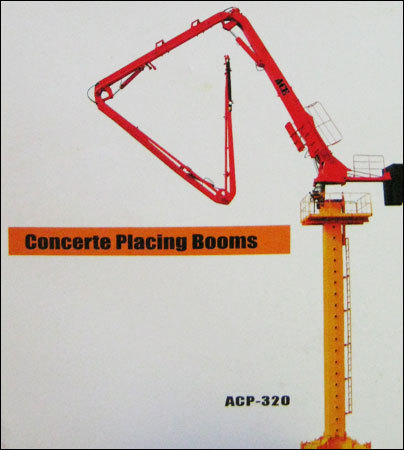 Concrete Placing Booms