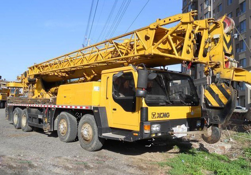Mobile Crane 50 Ton Dimension : Used mobile crane xcmg ton qy k in minghang