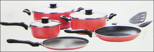 Non Stick Cookware (10 Pcs Set)