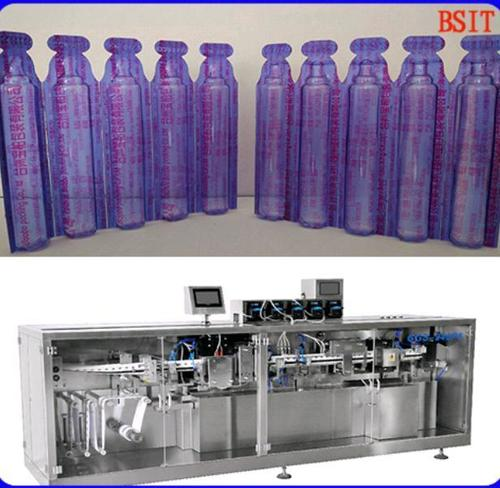 Plastic Ampoule Filling And Sealing Packing Machine