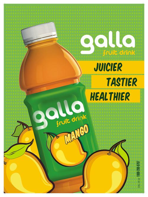 Galla Fruit Drinks