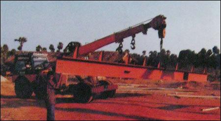 Mobile Hydra Crane