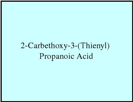 2-Carbethoxy-3-(Thienyl) Propanoic Acid