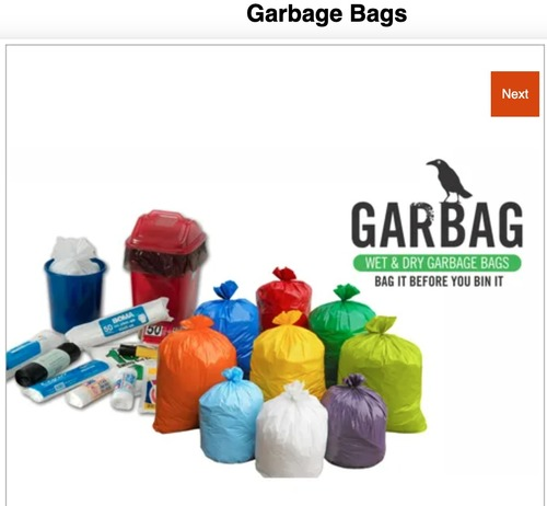 Garbage Bag in  Virwani Indl. Est.-Goregaon (E)