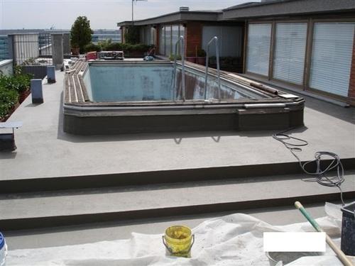 Terrace Swimming Pool Waterproofing Service