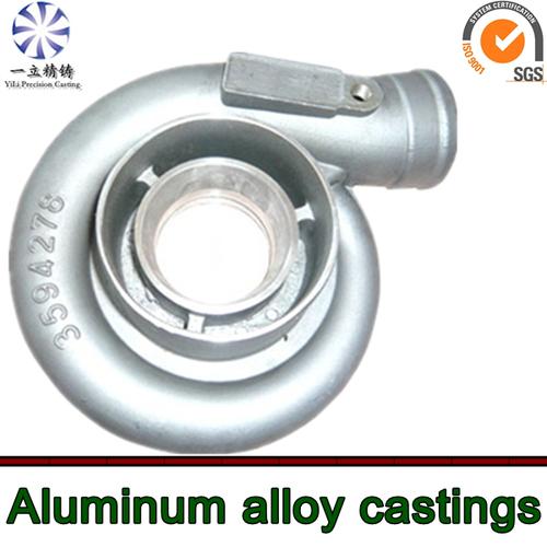 Precision Turbo Compressor Wheel: Aluminium Alloy CNC Machining Compressor Wheel Used For