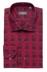 Satin Check Shirt
