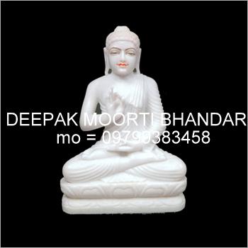 Marble Buddha Ji Idol
