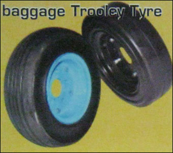 Baggage Trolley Tyre