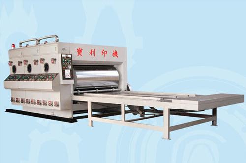 Semi Automatic Large Roller Printing Machine