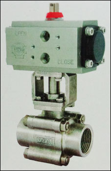 Screwed End Ball Valve With Actuator in  Vasai (West)