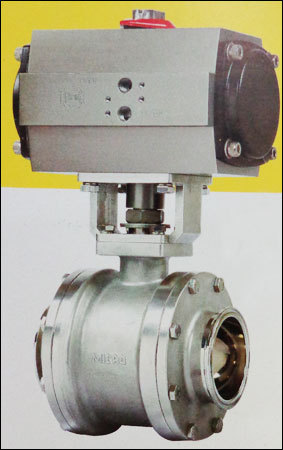 Tc End Cavity Filled Ball Valve With Actuator in  Vasai (West)