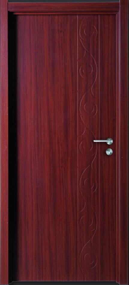 Interior Use MDF Door with PVC Membrane in Dangshan Town Xiaoshan