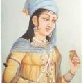 Beautiful Mughal Art Painting