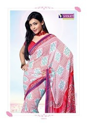 Printed Cotton Ladies Saree
