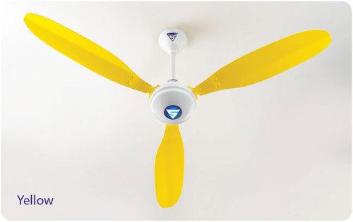 Yellow Ceiling Fan: Yellow Ceiling Fan (Super Model x1),Lighting