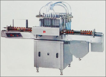 Fully Automatic 4hd In Line Vial Filling Machine