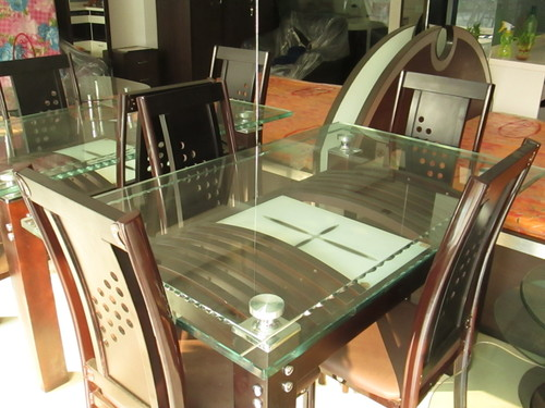 Glass Top Dining Table in  Santosh Roy Road