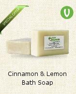 Cinnamon And Lemon Bath Soap