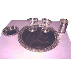 Brilliant Design Silver Dinner Set