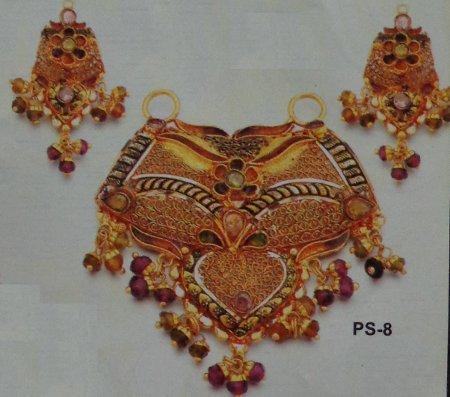 Traditional Paper Antique Pendant Set