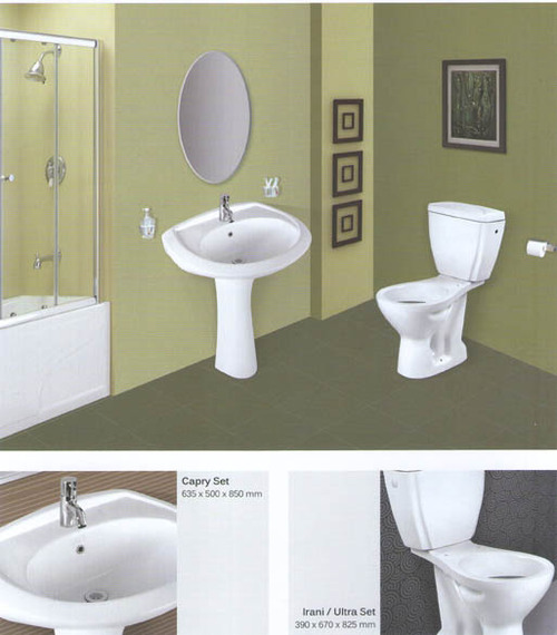 Capry Wash Basin Set