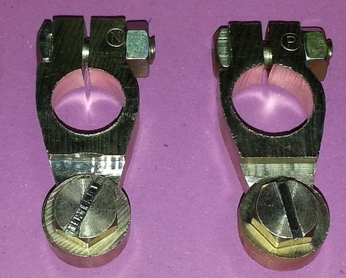 Brass Battery Terminals in   Face -3