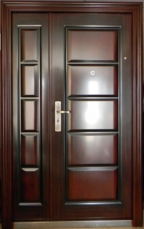 Metallic Doors Kenya Amp Simple Design Black Villa Outside