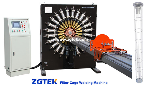 Filter Cage Welding Machinery