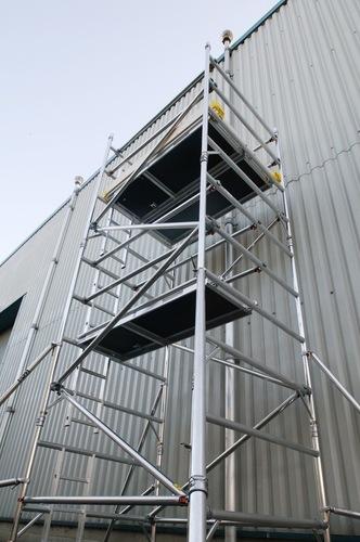 Aluminum Scaffolding Systems : Aluminium scaffolding in jhotwara jaipur jagdish