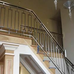 Steel stair railing in wagholi pune ashapuri metals - Steel stair railing design ...