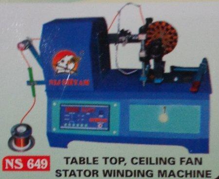 Table Top Ceiling Fan Stator Winding Machine