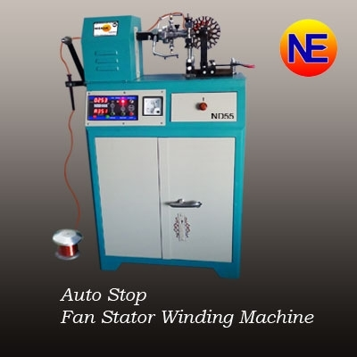 Auto Stop Fan Rewinding Machine in  Virat Nagar (Odhav)
