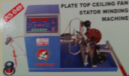 Plate Top Ceiling Fan Stator Winding Machine in  Bapunagar