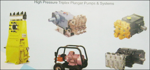 High Pressure Triplex Plunger Pumps And Systems