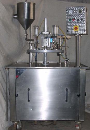 Manual Jar Filling Machine