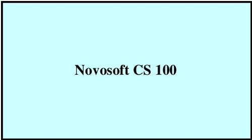 Novosoft CS 100