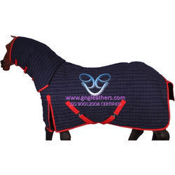 Horse Canvas Poly-Filled Rugs