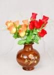Wooden Flower Vase (WFV-01) in   Udupi