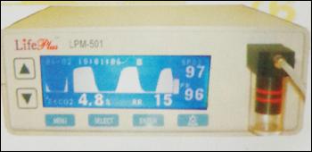 Etco2 Monitor With Pulse Oximeter