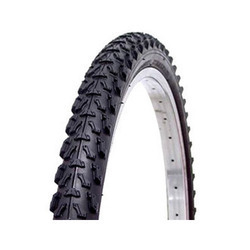 Black Bicycle Tyre