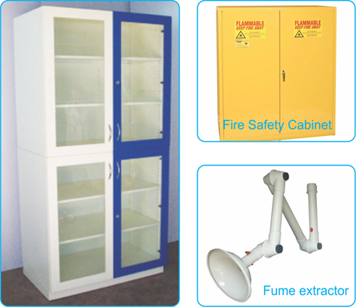 Lab Chemical Storage Cupboard in  Makarpura (Vdr)