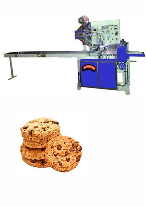 On Edge Cookies Packing Machine