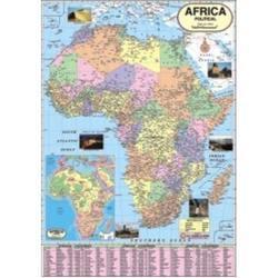 Africa Political Map in  Ram Mandir Rd.-Goregaon (W)