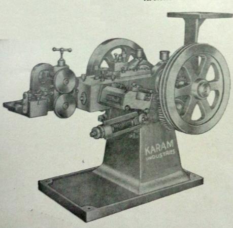 Double Stroke Cold Heading Machine